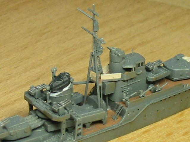 日本海軍甲型駆逐艦 夕雲型 朝霜08
