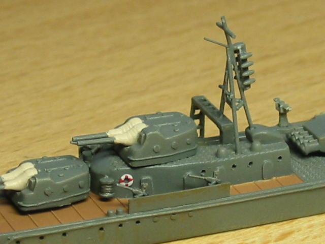 日本海軍甲型駆逐艦 夕雲型 朝霜10