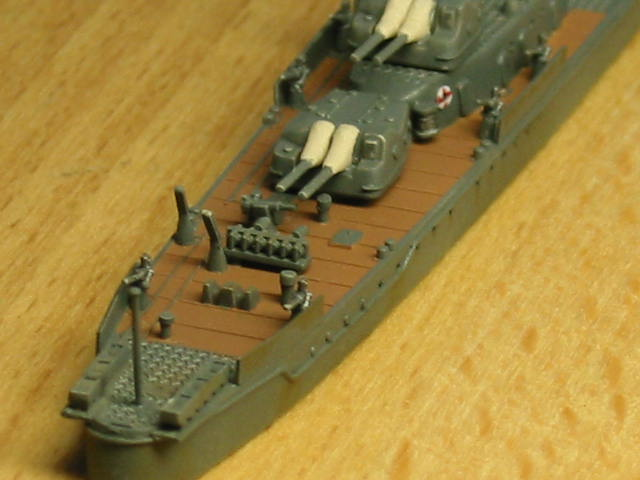 日本海軍甲型駆逐艦 夕雲型 朝霜05