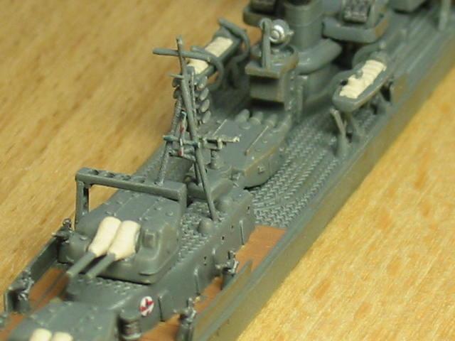 日本海軍甲型駆逐艦 夕雲型 朝霜04