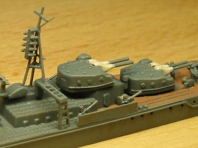 日本海軍甲型駆逐艦 夕雲型 朝霜12