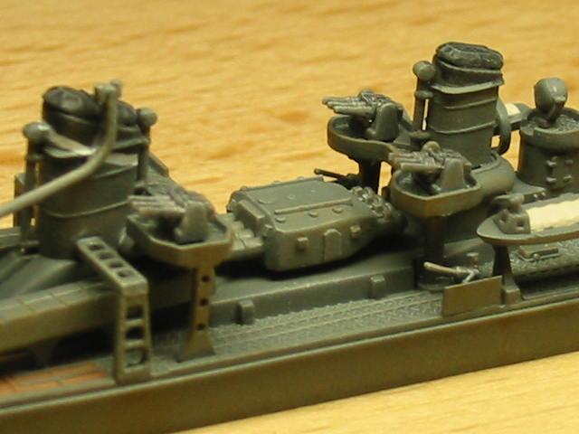 日本海軍甲型駆逐艦 夕雲型 朝霜11