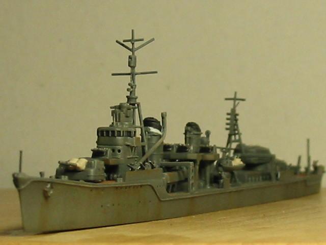 日本海軍甲型駆逐艦 夕雲型 朝霜18