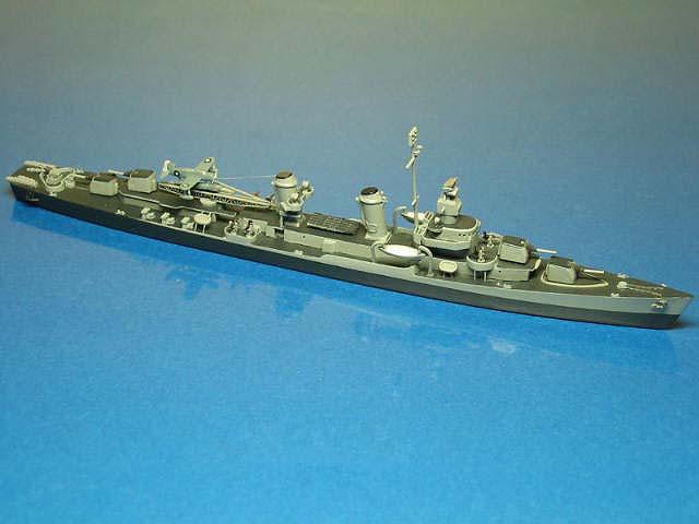 フレッチャ-型「DD477プリングル」1942