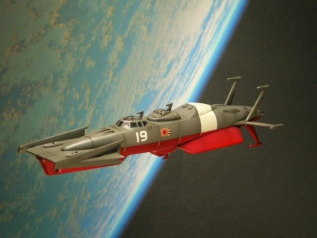 M-21881式雪風型宇宙突撃駆逐艦 02