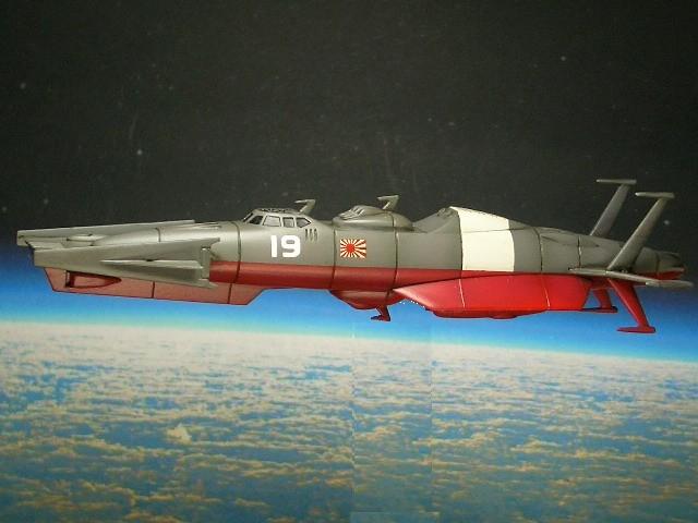 M-21881式雪風型宇宙突撃駆逐艦 04